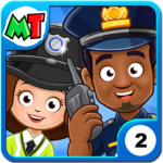 My Town : Police Station Pretend games for Kids  APK (MOD Unlimited Money) 3.02