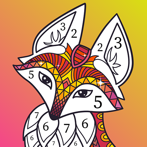 Antistress Coloring By Numbers For Adults 2.0 APK (MOD, Unlimited Money)