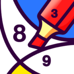 BATIQ Coloring book by number Color Therapy 1.5.1.0 APK MOD Unlimited Money