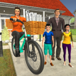 Working Mom Newspaper Girl Family Game 1.24 APK (MOD, Unlimited Money)