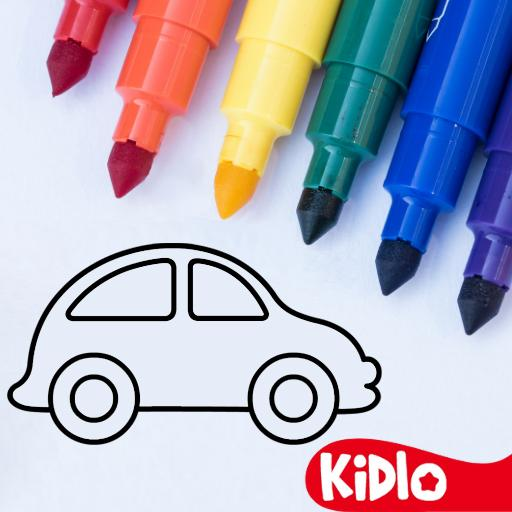 Coloring Games for Kids – Drawing Color Book APK MOD Unlimited Money