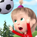 Masha and the Bear Football Games for kids APK MOD Unlimited Money