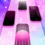 Magic Pink Tiles Piano Game APK MOD Unlimited Money