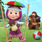 Free games: Masha and the Bear 1.4.6 APK (MOD, Unlimited Money)