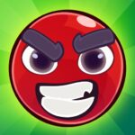 Red Bounce Ball Jumping and Roller Ball Adventure APK MOD Unlimited Money
