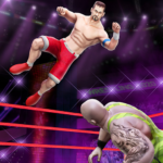 Cage Wrestling Games Ring Fighting Champions APK MOD Unlimited Money