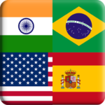 Flags Quiz Gallery Quiz flags name and color APK MOD Unlimited Money