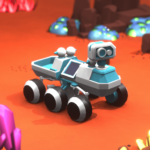 Space Rover Idle planet mining tycoon simulator APK MOD Unlimited Money