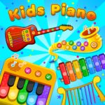 Kids Piano Animal Sounds musical Instruments APK MOD Unlimited Money