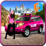 New York Taxi Duty Driver Pink Taxi Games 2018 APK MOD Unlimited Money
